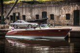 Bateau Riva Aquarama de 1968 de Ferruccio Lamborghini motorisé par deux 4,0 l V12 Lamborghini