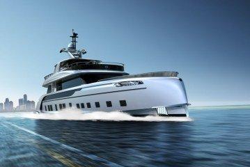 Dynamiq GTT 115 Hybrid super-yacht by Studio F. A. Porsche