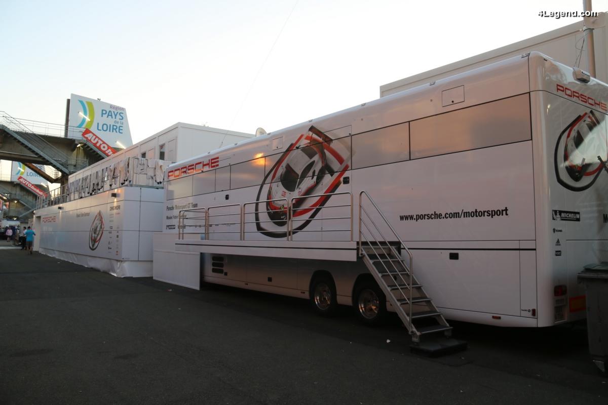 24H 2017 - Coulisses des équipes Porsche Motorsport aux 24 Heures du Mans