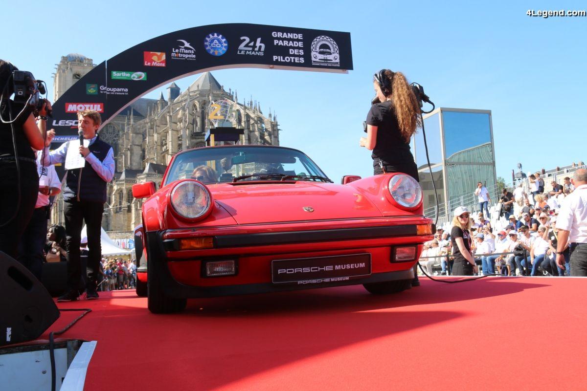 24H 2017 - Photos de la Grande Parade des pilotes avec des supercars et avec les teams Porsche