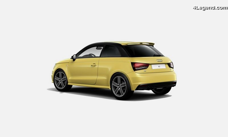 audi a1 s edition une nouvelle s rie sp ciale bas e sur le moteur 1 8 tfsi 192 ch s tronic. Black Bedroom Furniture Sets. Home Design Ideas