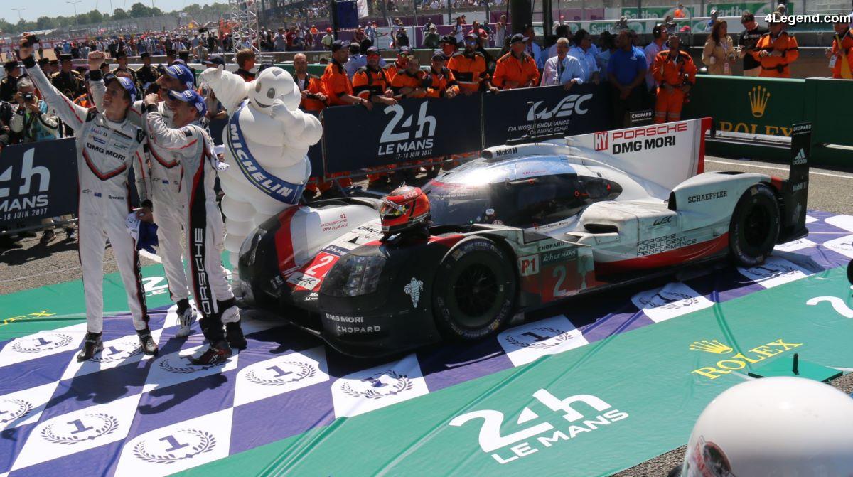 24H 2017 - 25ème victoire de Michelin aux 24 Heures du Mans grâce à Porsche