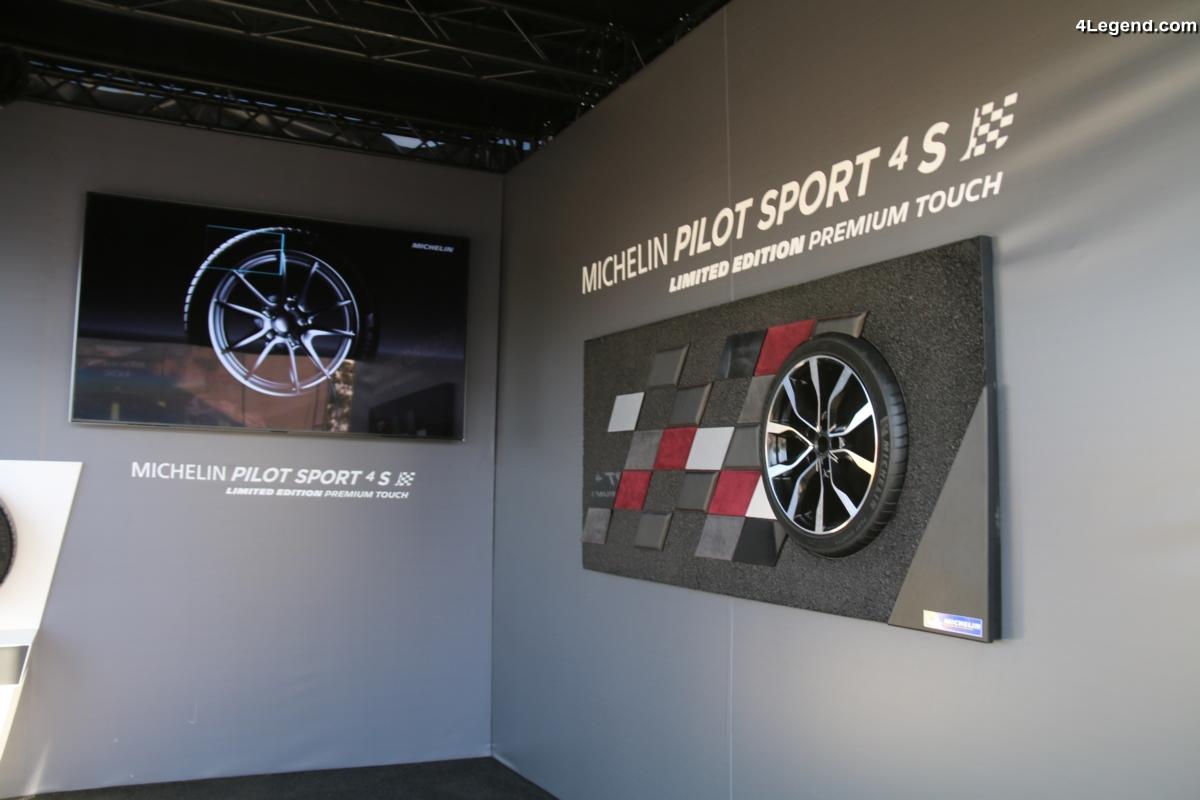 24H 2017 - Nouveau pneu Michelin Pilot Sport 4 S Limited Edition Premium Touch