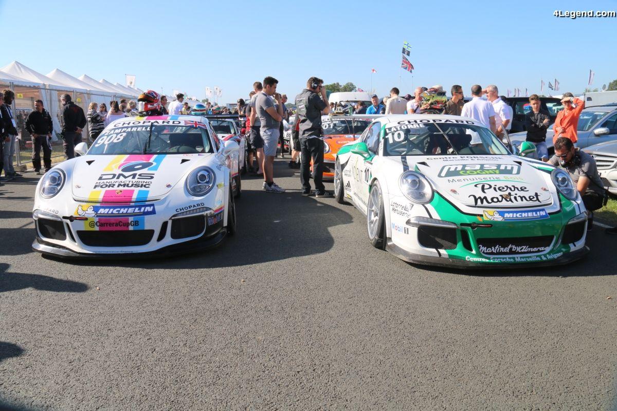 24H 2017 - Dan Cammish gagne la Porsche Carrera Cup Le Mans 2017