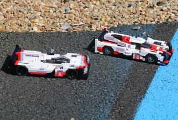 24H 2017 – Shooting photos Porsche 919 Hybrid en LEGO vs Toyota TS050 Hybrid en LEGO sur le circuit du Mans