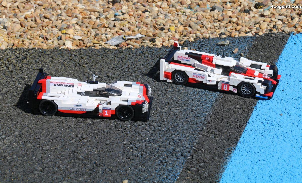 24H 2017 - Shooting photos Porsche 919 Hybrid en LEGO vs Toyota TS050 Hybrid en LEGO sur le circuit du Mans