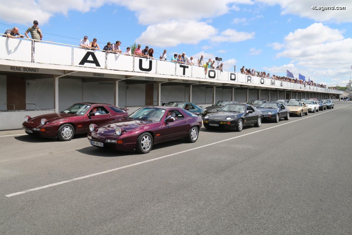 40 ans de la Porsche 928 à l'Autodrome Heritage Festival 2017