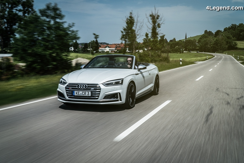 ABT Audi S5 Cabriolet - 425 ch et 550 Nm pour rouler cheveux au vent