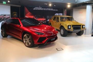 Présentation du Lamborghini Urus le 4 décembre 2017 à Sant'Agata Bolognese