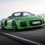 Audi R8 Spyder V10 plus – Une version plus puissante avec 610 ch