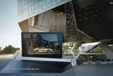 Campagne interactive et innovante pour le lancement de la Porsche 911 Turbo S Exclusive Series