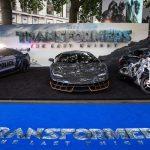 Apparition de la Lamborghini Centenario à la Première londonienne du film «Transformers: The Last Knight»