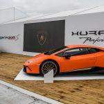Lamborghini Centenario, Aventador S unique & Huracán Performante au Goodwood Festival of Speed 2017