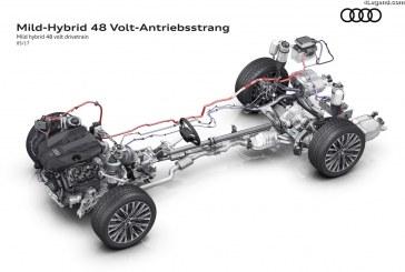 Un groupe motopropulseur hybride de série sur la nouvelle Audi A8 – Plus de tension pour une efficience accrue