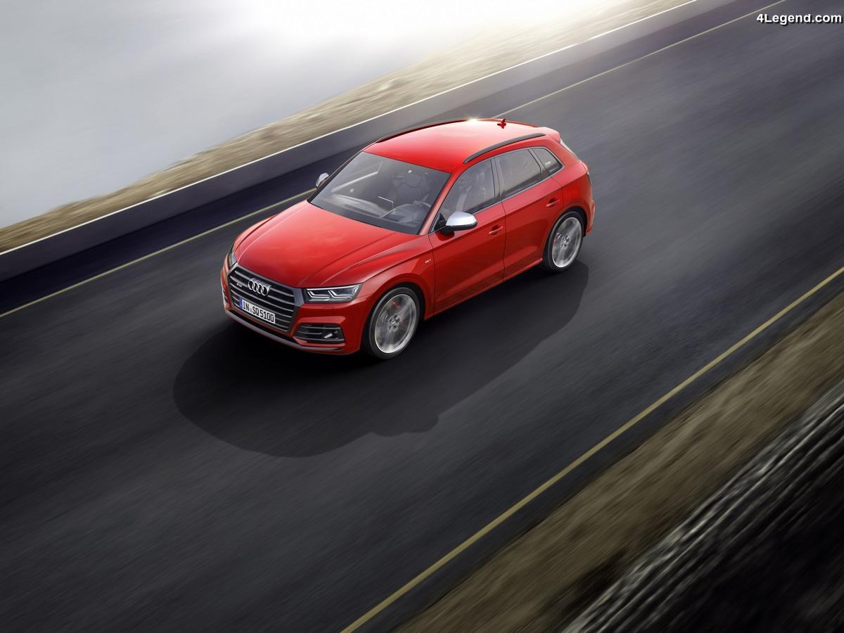 Ouverture des commandes de la nouvelle Audi SQ5 - Tarif 2017