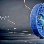 Pneu Concept Vision Michelin – Un pneu connecté imprimé en 3D et rechargeable en fonction de son usure