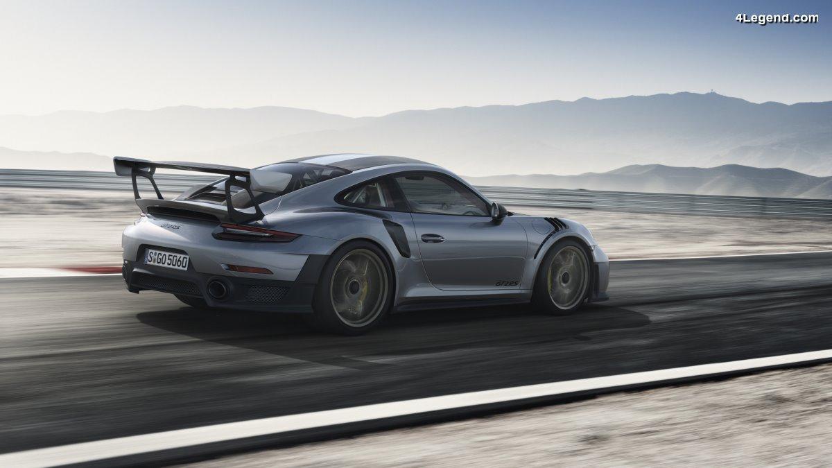 Porsche 911 GT2 RS - La Porsche 911 la plus puissante de tous les temps : 700 ch et 340 km/h