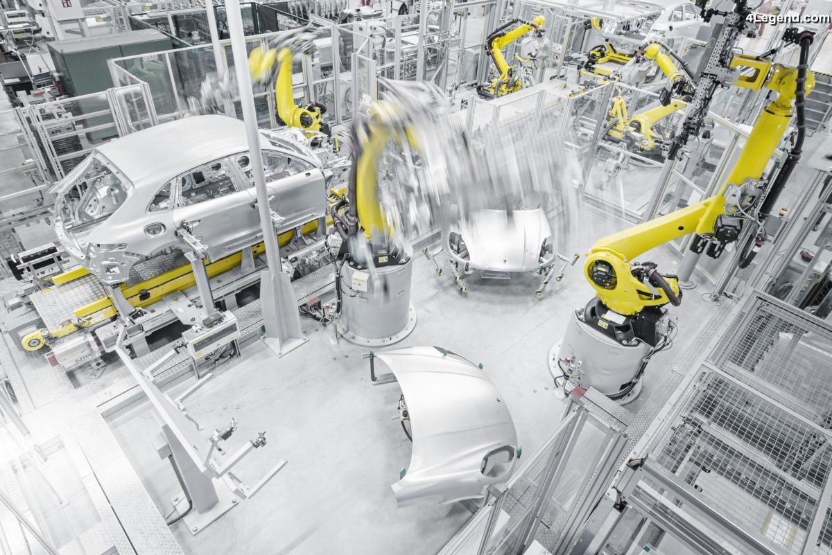 Feu vert pour la nouvelle expansion de l'usine Porsche de Leipzig pour le futur Macan