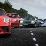 Road trip en Ecosse de la millionième Porsche 911 avec une vingtaine de Porsche 911 de toutes générations