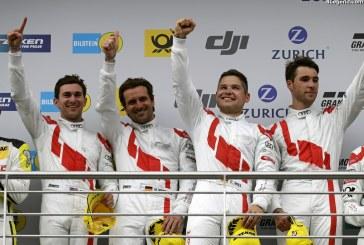 Quatrième victoire au classement général de l'Audi R8 LMS aux 24 Heures du Nürburgring 2017