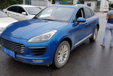 Zotye SR9 – La bonne copie chinoise du Porsche Macan