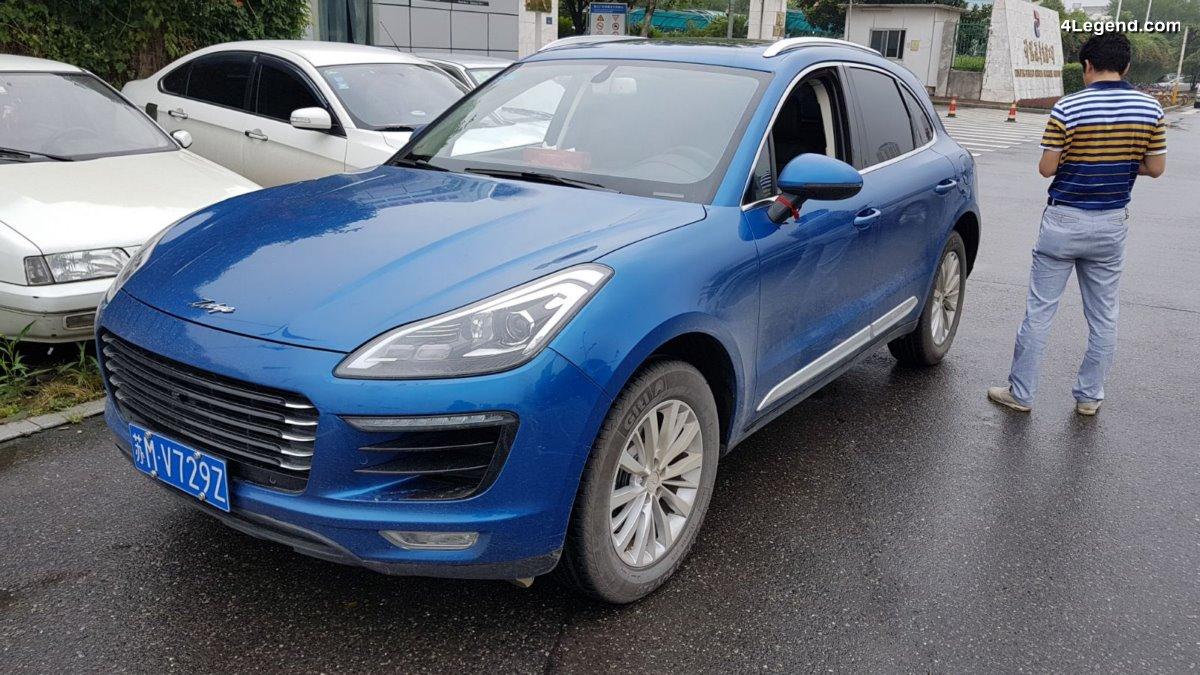 Zotye SR9 - La bonne copie chinoise du Porsche Macan