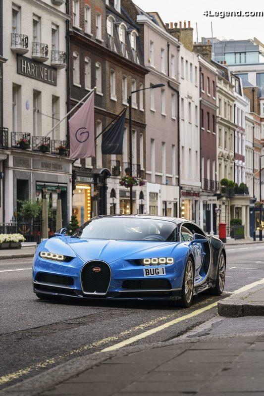 Bugatti London Accueille Officiellement La Premi 232 Re Chiron