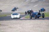 50 Bugatti réunies à l'Autodrome Heritage Festival 2017 afin de célébrer les 50 ans du Club Bugatti France