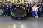 8000 Lamborghini Huracán produites en 3 ans