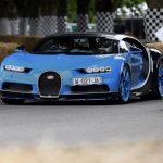Bugatti fait sensation au Goodwood Festival of Speed 2017 avec 2 Chiron et 6 Veyron