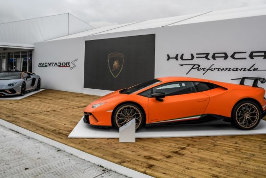Lamborghini Centenario, Aventador S unique & Huracán Performante au Goodwood Festival of Speed 2017