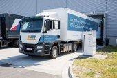 Projet eJIT – L'usine Porsche Leipzig teste un camion 100% électrique pour sa logistique