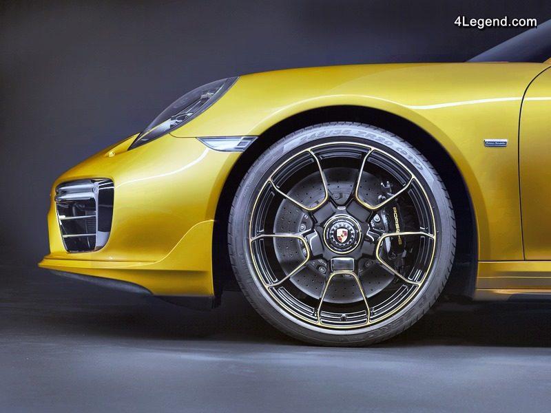 Porsche 911 Turbo S Exclusive Series : 607 ch sous le capot !