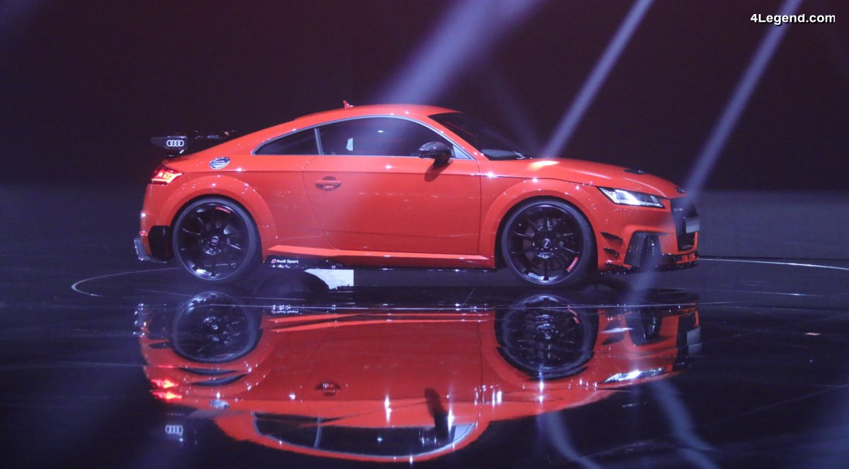 Audi Sport Performance Parts - Nouveaux équipements sportifs pour les Audi R8 et les Audi TT