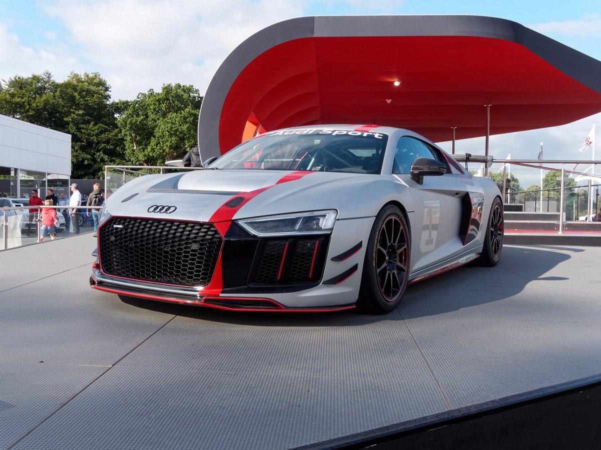 Audi UK et Audi Tradition en force au Goodwood Festival of Speed 2017