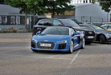 Audi Forum Ingolstadt – cure de S, RS et R8.