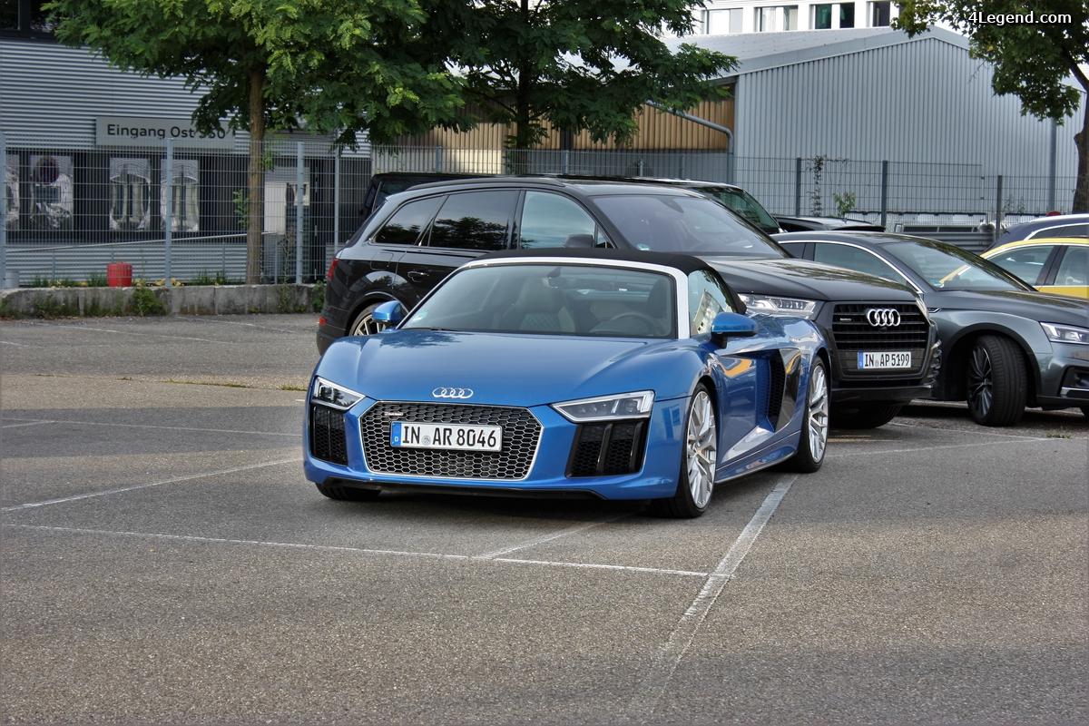 Audi Forum Ingolstadt - cure de S, RS et R8.