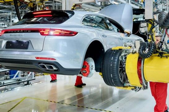 Lancement de la production de la Porsche Panamera Sport Turismo