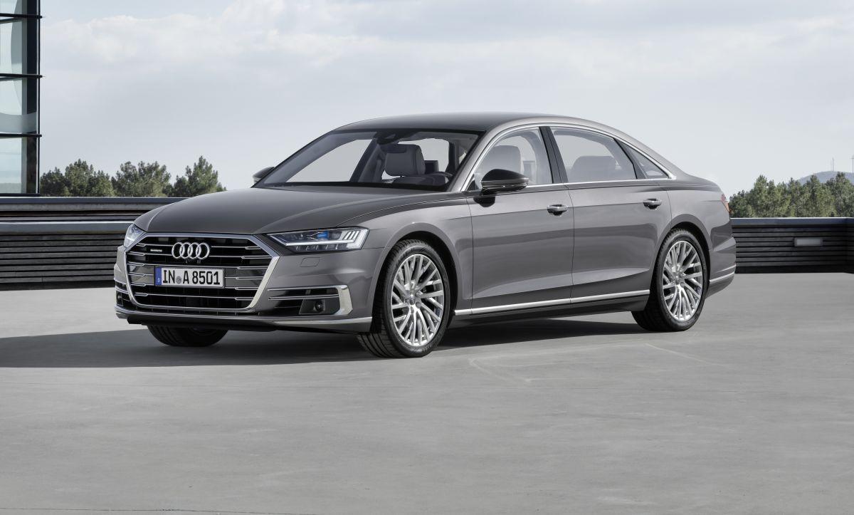 Nouvelle Audi A8 D5 - Un avant goût du futur automobile