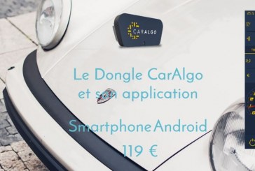 CarAlgo – Une nouvelle solution de véhicule connecté via un dongle ODB-CAN / Bluetooth