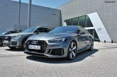 Premier essai en concession de la RS5 V6 2.9 bi-turbo.