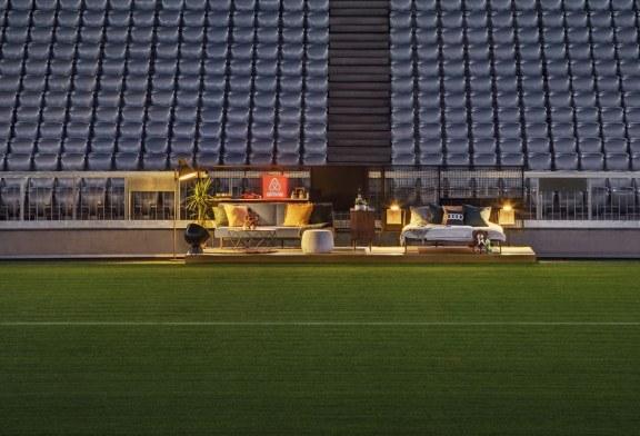 Audi et Airbnb transforment un stade en maison à l'occasion de l'Audi Cup 2017