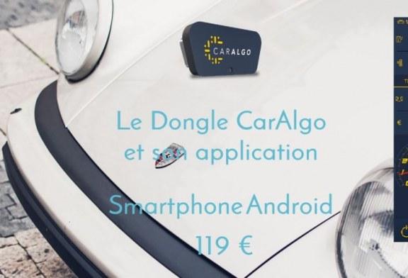 CarAlgo – Une nouvelle solution de véhicule connecté via un dongle ODB-CAN / Bluetooth