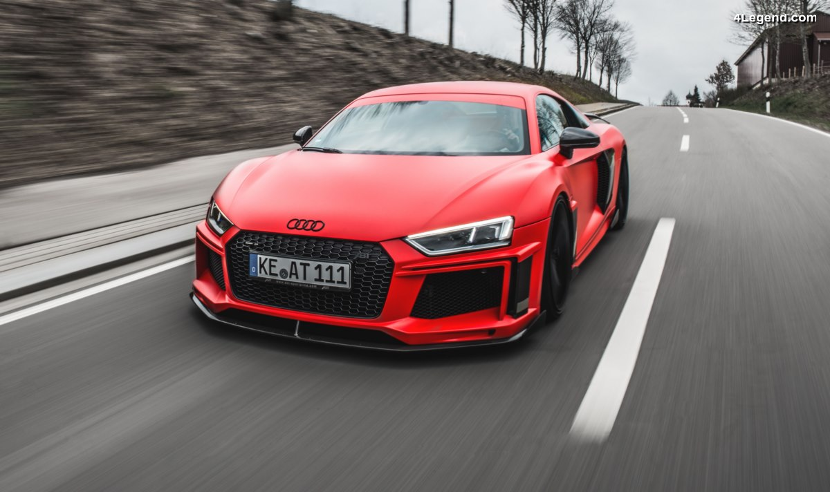 ABT propose une augmentation de puissance pour les Audi R8 V10 - 610 ch et 560 Nm