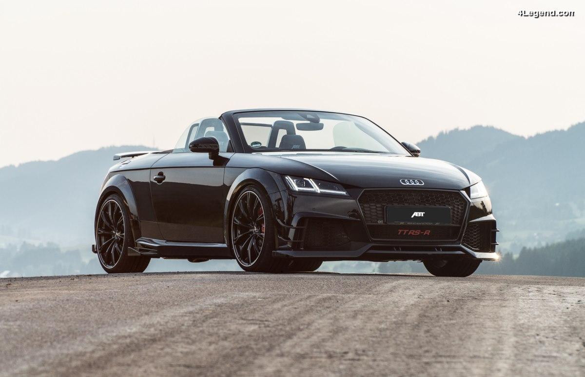 ABT TT RS-R Roadster - L'Audi TT RS Roadster avec 500 ch et 570 Nm limitée à 50 exemplaires
