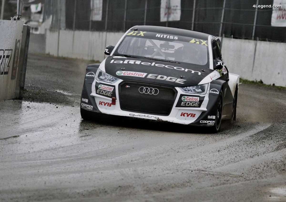 Audi engage quatre Audi S1 EKS RX quattro à Lohéac dans le championnat World RX