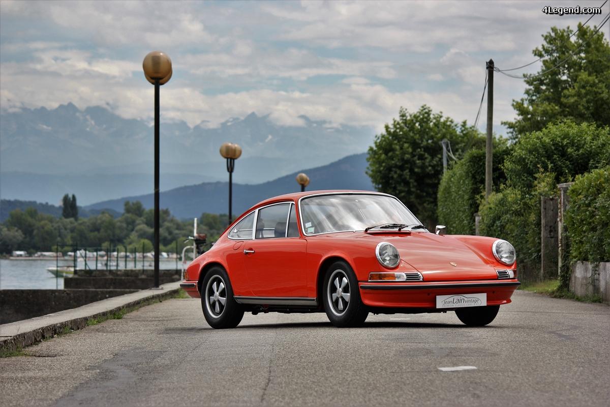 Porsche 911 2.4S de 1971: l'ex reine des circuits de Zuffenhausen en balade.