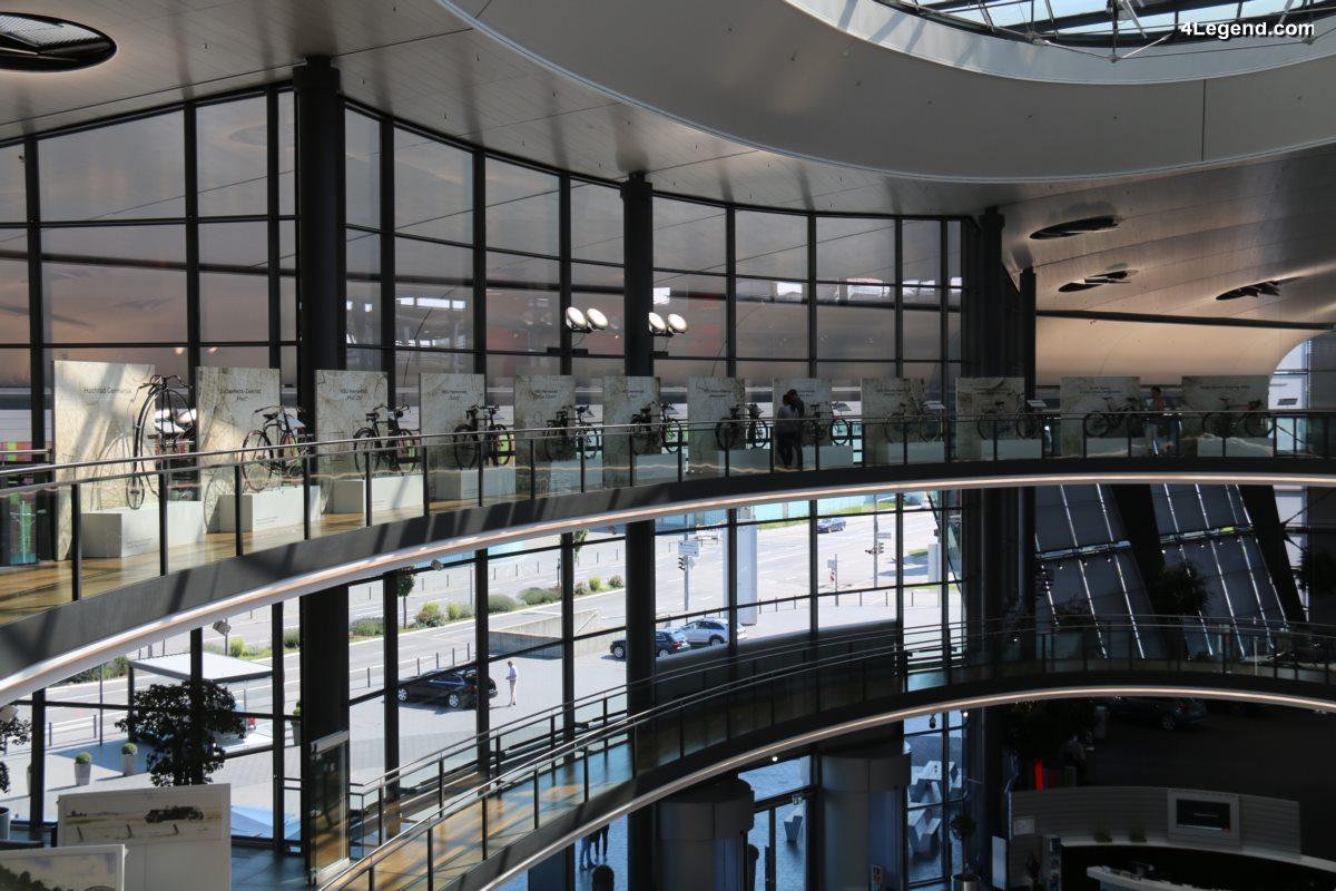 200 ans de vélos - Exposition spéciale de vélos à l'Audi Forum Neckarsulm