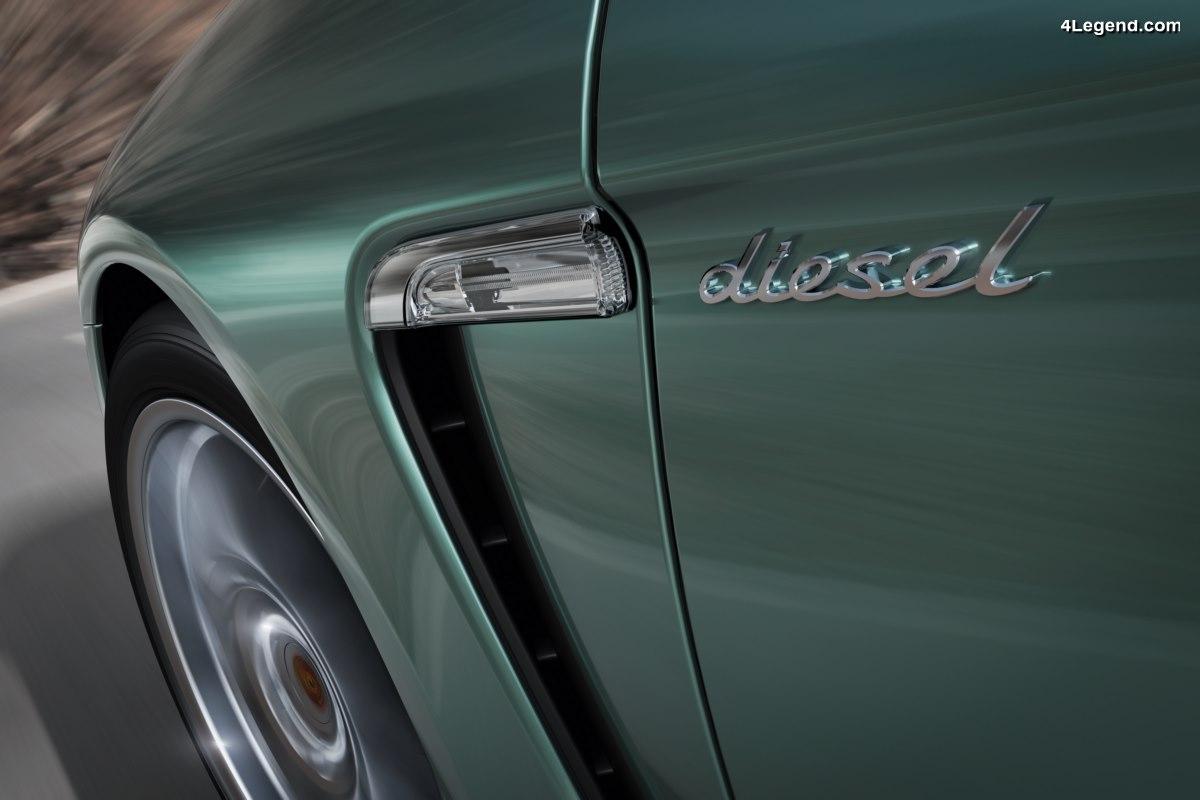 Porsche met fin aux moteurs diesel sur ses modèles en commençant par la nouvelle Panamera 4S Diesel