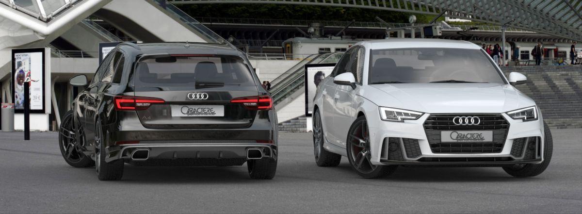 Nouveau kit carrosserie Caractere pour les Audi A4 B9